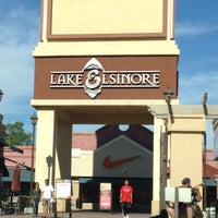 Photo taken at Lake Elsinore Outlets by Savannah S. on 10/13/2012