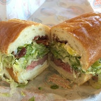 Photo taken at Jersey Mike's Subs by Jonathan Z. on 10/9/2015