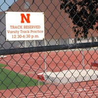 Photo taken at Ed Weir Track & Soccer Stadium by Bob C. on 7/13/2013