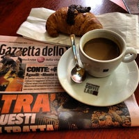 Photo taken at Bar Vittoria by Bob C. on 5/6/2014