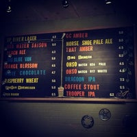 Photo taken at O.H.S.O. Eatery + nanoBrewery by Adan H. on 10/11/2012