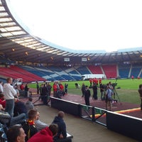 Photo taken at Hampden Park by Thomas D. on 9/5/2013