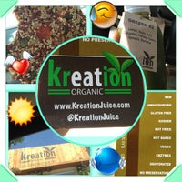 Photo taken at Kreation Juicery by Charles M. on 7/9/2013