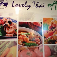 Photo taken at Lovely Thai by Wei X. on 9/22/2013