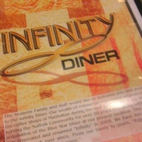 Photo taken at Infinity Diner by Diana Q. on 1/16/2013