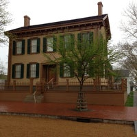 Photo taken at Lincoln Home National Historic Site by Thomas L. on 4/23/2013