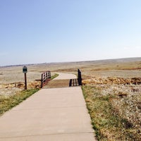 Photo taken at Cathy Fromme Prairie Natural Area by Hans T. on 3/23/2014