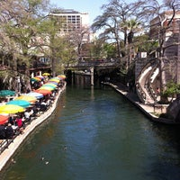 Photo taken at The San Antonio River Walk by Nick S. on 3/25/2013