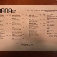 Photo taken at Mana Food Bar by Sean S. on 7/29/2017