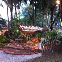 Photo taken at Pakmeng Resort by Siriporn T. on 12/30/2012