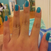 Photo taken at Nail.a.holics by Christine A. on 9/28/2012