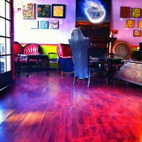 Photo taken at Lestat's Coffee House by CJ E. on 2/4/2013