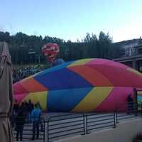 Photo taken at Snowmass Wine & Balloon Festival by Da N. on 9/15/2013