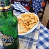 Photo taken at The Quick Corner Beach Restaurant by Murat A. on 8/9/2014