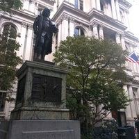 Photo taken at Benjamin Franklin Statue by Christine L. on 9/11/2016