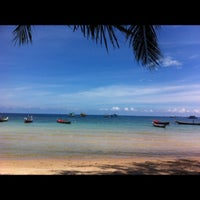 Photo taken at Seashell Resort Koh Tao by GaMJai P. on 5/4/2013