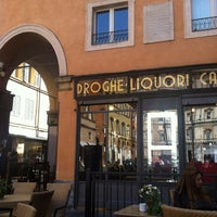 Photo taken at Droghe-Liquori Caffe by Burcu C. on 4/9/2014