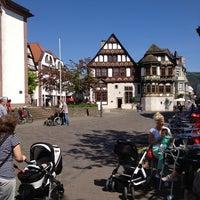 Photo taken at Marktplatz Höxter by Remie t. on 5/20/2014