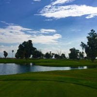 Photo taken at Tres Rios Golf Course at Estrella Mountain Park by Andres J. on 8/26/2016