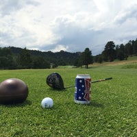 Photo taken at Evergreen Golf Course by Josh F. on 7/4/2014