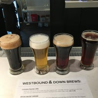 Photo taken at Westbound & Down Brewing Company by Josh F. on 2/20/2016