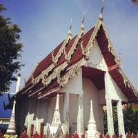 Photo taken at วัดใหม่สุปดิษฐาราม by Kidz D. on 4/3/2016