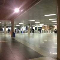 Photo taken at Metrô-DF - Estação Central by Leonardo J. on 9/4/2013