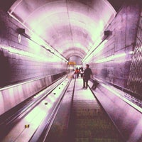 Photo taken at MARTA - Peachtree Center Station by Evan C. on 4/7/2013