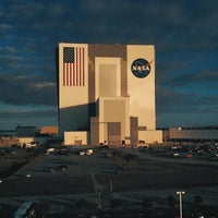 Photo taken at Kennedy Space Center Vehicle Assembly Tour by Evan C. on 12/3/2014