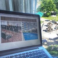 Das Foto wurde bei Park Inn By Radisson Mannheim von David am 8/26/2016 aufgenommen