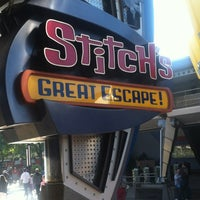 Photo taken at Stitch's Great Escape! by Steve on 11/20/2012