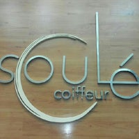 Photo taken at Soulé Coiffeur by Alvaro O. on 3/2/2013