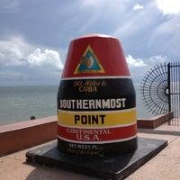 Photo taken at Southernmost Point Buoy by Eugene V. on 10/8/2012