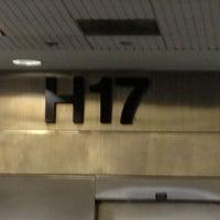 Photo taken at Gate H17 by Eugene V. on 10/12/2012
