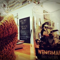 Photo taken at Wingman Brewers by Rod R. on 2/14/2014
