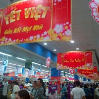 Photo taken at Co.opmart Ly Thuong Kiet by Nghia T. on 1/5/2014