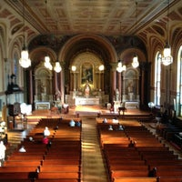 Photo taken at Old Saint Mary's Catholic Church by Claire D. on 5/24/2013