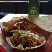 Photo taken at Dos Toros Taqueria by Pamela W. on 4/25/2013