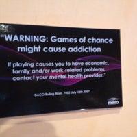 Photo taken at Casino Metro by Wilds O. on 4/19/2013