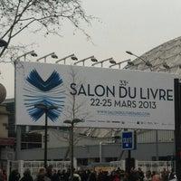Photo taken at Paris Expo Porte de Versailles by Aurore G. on 3/21/2013