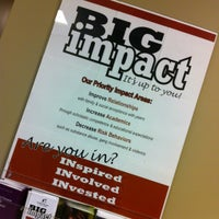 Photo taken at Big Brothers/Big Sisters of Greater Lafayette by Kimi S. on 11/25/2012