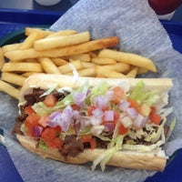 Photo taken at Briantos Original Hoagies by Ivanna V. on 9/30/2013