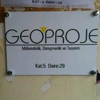 Photo taken at Geoproje Mühendislik Danışmanlık ve Tasarım by Emre E. on 3/2/2013