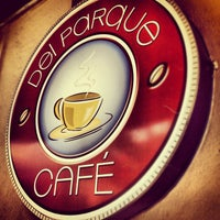 Photo taken at Café del Parque by Fernando H. on 2/9/2013