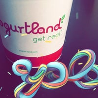 Photo taken at Yogurtland by Bader A. on 4/20/2017