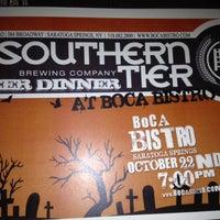 Photo taken at Boca Bistro by Brew Salt on 10/22/2012