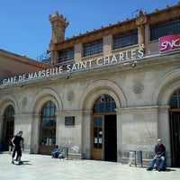 Photo taken at Marseille Saint-Charles Railway Station by Galantnyy G. on 6/22/2013