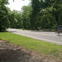 Photo taken at Prospect Park Loop by Bennuworld on 5/16/2013