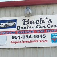 Photo taken at Back's Quality Car Care by Greg R. on 6/1/2017
