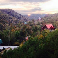 Photo taken at Journey's End Rental Cabin by Cabin Fever Vacations by Lisa H. on 10/22/2013